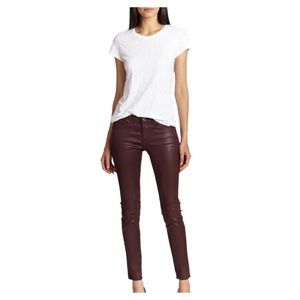 NWT AG Adriano Goldschmeid Coated Leggings/Jeans